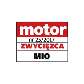 MiVue C330  3rd place award in comparative test for DVRs in price range 40 to 190 EUR MOTOR magazine in Poland